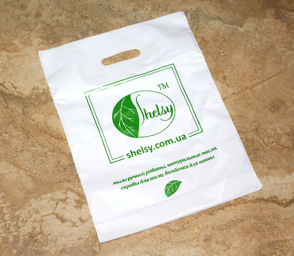 A packing bag for organic soap